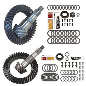 4 10 Ring And Pinion Gears Install Kit Package Dana 30 Jk Front D44 Rear