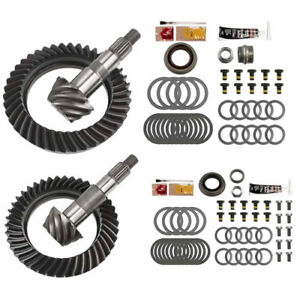 4 56 Ring And Pinion Gears Install Kit Package Dana 44 Jk Rubicon Front Rear