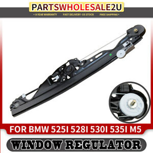 Rear Left Window Regulator Without Motor For Bmw E60 E61 525i 528i 530i 535i M5