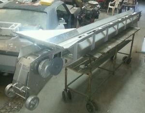 New Phillips Aluminum Portable Belt Type Coal Conveyor And Parts