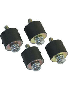 Msd Ignition Box Vibration Mounts Msd5 6 Series Ignitions Set Of 4 8823