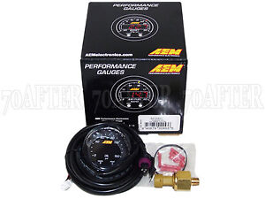 Aem 30 0307 X Series Electronic 150psi 10bar Oil Pressure Gauge Meter