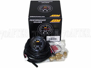 Aem 30 0308 X series Electronic 60psi 4bar Turbo Boost Pressure Gauge Meter