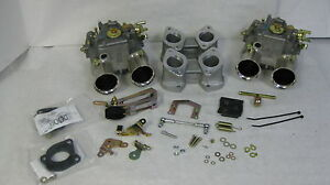 Bmw 2002 Dual Weber 45 Dcoe Conversion Kit K205 Genuine Weber Carbs