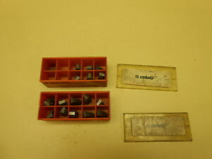 General Electric Cemented Carbide Inserts B 300 3850 8 10 Lot Of 16 Pcs