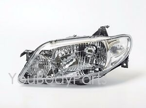 Clear Headlights Mazda 323 F Familia 2002 2004 Front Left Side Driver Side