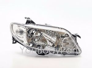 Clear Headlights Mazda 323 F Familia 2002 2004 Front Right Side Passeger Side