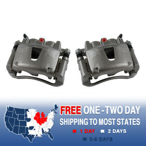 Front Brake Calipers For 2006 2007 2008 2009 2010 Jeep Grand Cherokee Commander