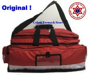 Original Ems Paramedic Trauma Bag Fire Rescue First Aid Ambulanc Red
