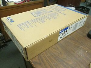 Eaton Indoor Main Lug Load Center Br2424l125g 125a 24 circuit New Surplus