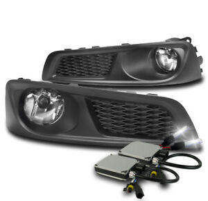 Front Lower Bumper Chrome Driving Fog Lights W 8k Xenon Hid For 2010 2012 Legacy