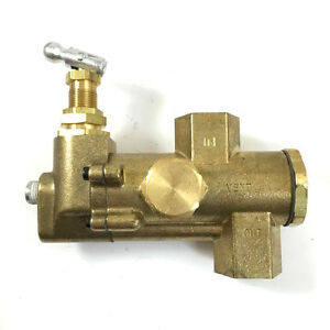 Unloader Pilot Valve For Gas Powered Air Compressors 1 2 In 1 2 Out
