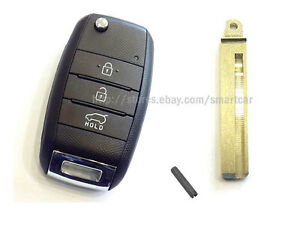 Keyless Entry Folding Tx Transmitter Key For 2015 2016 2017 Kia Sorento