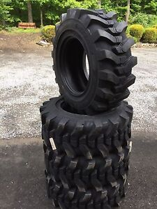 4 12 16 5 Hd Skid Steer Tires 12x16 5 solideal Sks 732 For Bobcat And Others