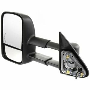 Power Mirror For 2003 2006 Gmc Sierra 2500 Hd Left Manual Fold With Signal Light