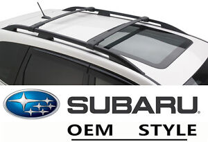 Roof Rack Cross Bars Oe Style Set For 09 12 13 Subaru Forester Luggage Carrier