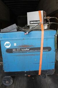 Miller 330 St Aircrafter Welder Constant Current Ac dc Arc Welding Power Source