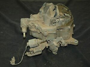 973 D3zf ma Mustang Carb Motorcraft 351 Auto Trans W idle Solenoid Used