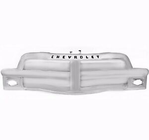 1954 54 Chevy Pickup Pu Truck Grille Grill Assembly Chrome Chevrolet Cpgr5455 2