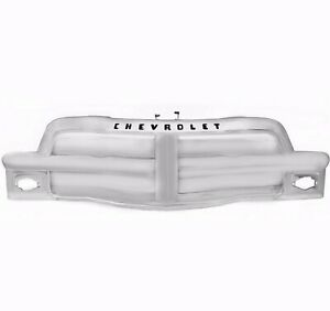 1954 Chevy Pickup Pu Truck Grille Assembly Chrome Chevrolet Script Dynacorn