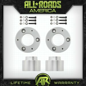 Full Leveling Lift Kit 3 Front 2 Rear 2007 2014 Cadillac Escalade 4wd 2wd