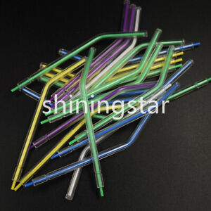 1000x Colorful Plastic Disposable 3 way Dental Syringe Air Water Nozzles Tips