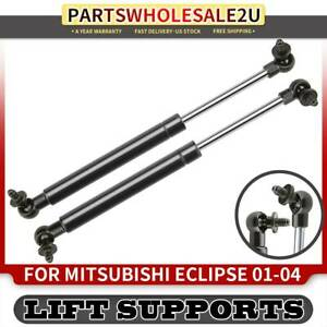 2 Tailgate Trunk Lift Supports For Mitsubishi Eclipse 2001 2002 2004 Convertible