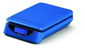 Brecknell Ps25 Electronic Portable Postal Parcel Scale 25 Lb X 0 2 Oz Blue
