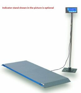 Salter Brecknell Ps1000 Physician Medical Vet Drum Floor Scale 1000x0 5lb new