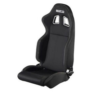 Sparco Street R100 Black Cloth Seat 00961nrnr Free Shipping