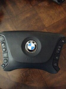 2002 Bmw 525si Drivers Steering Wheel Cover Only