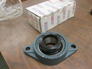 Ami Flange Bearing Khft209 28 1 3 4 New Surplus