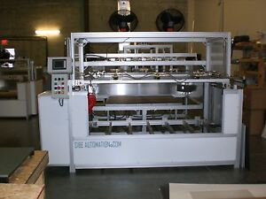 Sibe Automation Vacuum Former 48 X 60 Dual Heater Single Platen Thermoforming