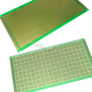 10 X Single Side 13x25 Cm 130x250 Mm Prototype Pcb Circuit Board Fr4 4050 Holes