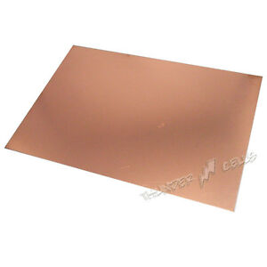 20 X Copper Double Size 15x20 Cm 150x200 Mm Fr4 Pcb Clad Laminate Circuit Board