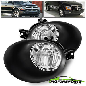 2002 2008 Dodge Ram 1500 2500 3500 2004 2006 Dodge Durango Glass Fog Lights 2005