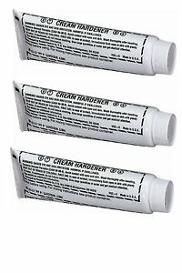 Fiberglass Evercoat 359 Blue Plastic Body Filler Cream Hardner 4oz Tube 3 Pack