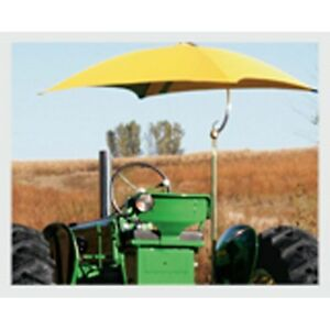 Tractor Sun Shade Umbrella Orange