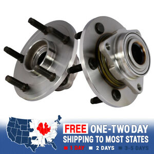 2 New Front Wheel Hub Bearing Assembly 2002 2008 Dodge Ram 1500 2wd 4x4 4wd