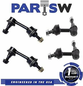 4pc Front Rear Suspension Stabilizer Sway Bar Link Expedition Navigator 03 06
