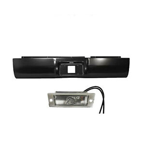 1994 To 2001 Dodge Ram 1500 2500 3500 Rear Steel Rollpan With License Light 2wd