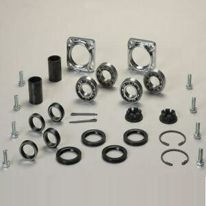 Bearing Seal Spacer Cap And Snap Ring Kit For Both Rear Irs Trailing Arms
