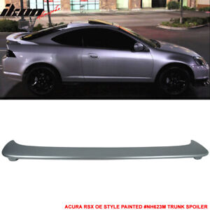 Fits 02 06 Rsx Dc5 Oe Style Trunk Spoiler Painted Nh623m Satin Silver Metallic