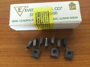 Everede Tool 3482 8501 700 Lathe Carbide Inserts 10 Pcs Cutting Tools New Cut