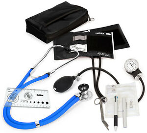 Aneroid Sphygmomanometer Sprague rappaport Nurse Kit A5 16 Colors