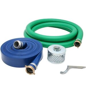 Abbott Rubber 2 inch Water Trash Pump Hose Kit Made In The Usa