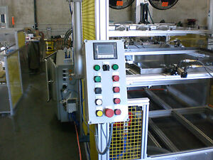 Sibe Automation Vacuum Forming Machine 48 X 72 Thermoforming Dual Heat