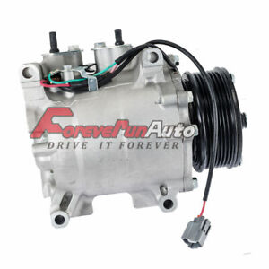 A C Compressor With Clutch Fits Honda Civic 2002 2005 L4 1 7l Ic77613 Us