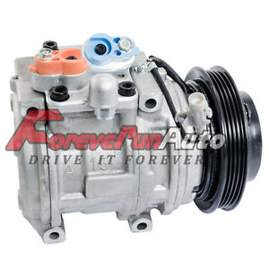 A C Compressor For Honda Civic 99 00 1 6l Acura Integra 90 01 10pa15c 67366