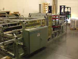 Sibe Automation Roll Fed Form Trim Stack Vacuum Forming Machine 24 X 18